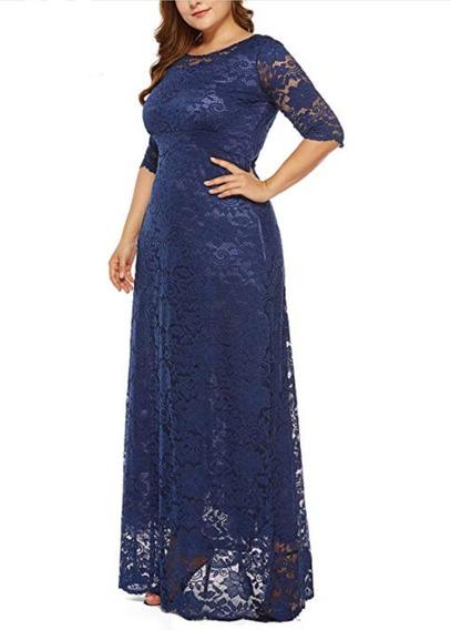 Vestido Largo Mujer Talla Grande Desde La S Hasta La 4xl