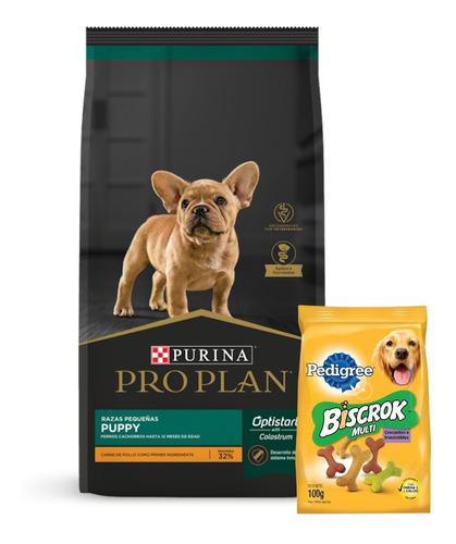 Pro Plan Cachorro Raza Chica (peq) 3k+promo -ver Foto+ Envío