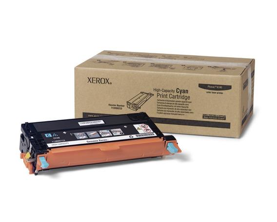 Cartucho Toner Xerox Phaser 6180 6k - Ciano 113r00723