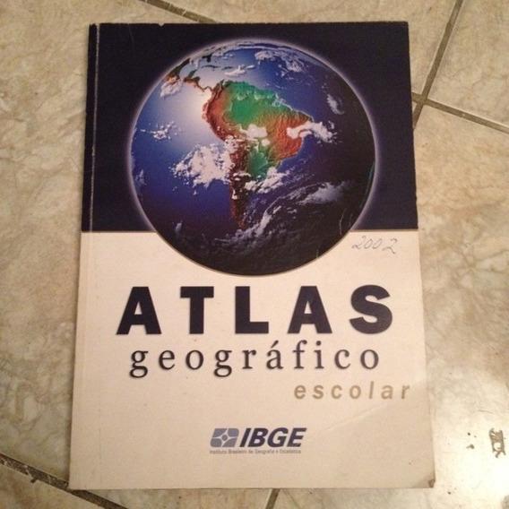 Livro Atlas Geográfico Escolar - Ibge - 2002 C2