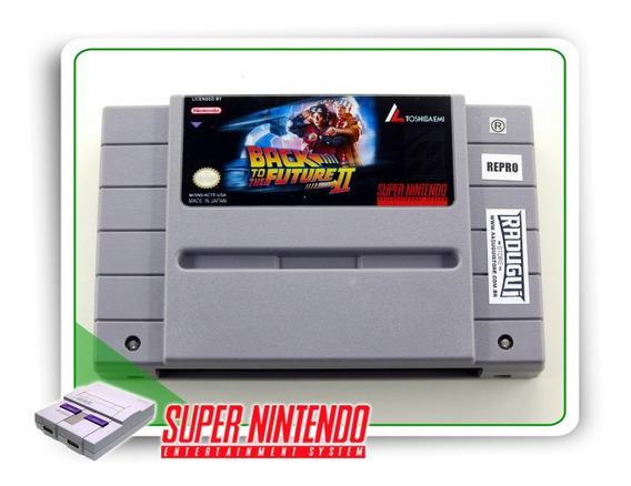 Super Back To The Future 2 Original Super Nintendo - Repro
