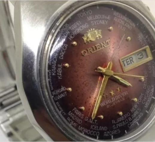 Relógio De Pulso Orient Masculino T09430 Automático Webclock