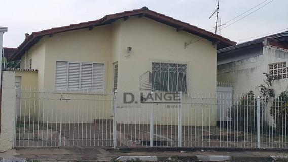Casa Com 3 Dormitórios À Venda, 130 M² Por R$ 330.000,00 - Jardim García - Campinas/sp - Ca13413