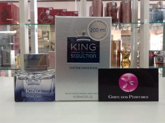 Perfume King Of Seduction Edt 200ml Antonio Banderas