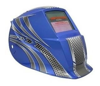 Careta Electronica Para Soldar Adir Azul