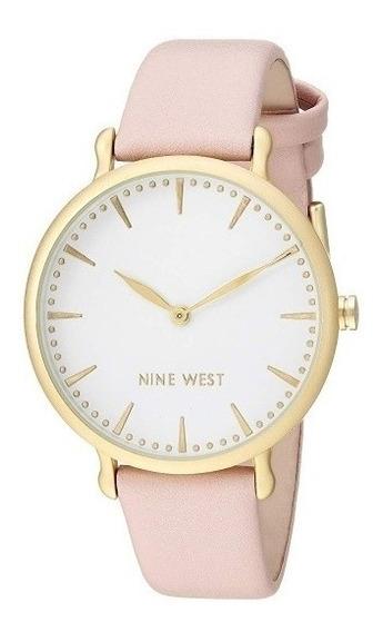 Nine West Reloj Nude De Diseñador, Original Con Envío Gratis