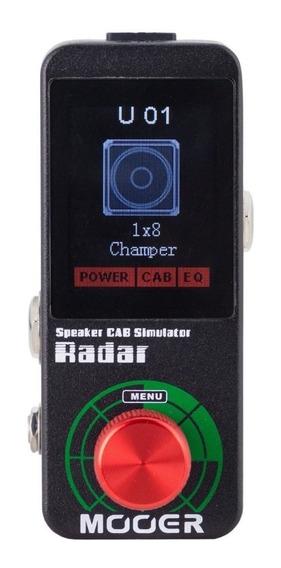 Pedal Mooer Radar Simulador De Gabinete C/ Fonte Nf Garantia