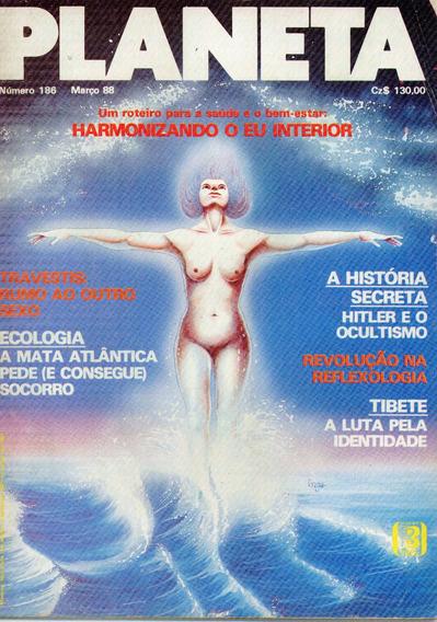 Revista Planeta Nº 186 - 1988 - Hitler E O Ocultismo
