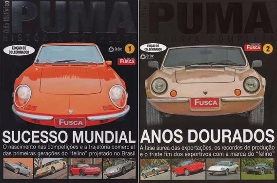 Kit Revistas Fusca & Cia Especial Puma História Completa 1+2
