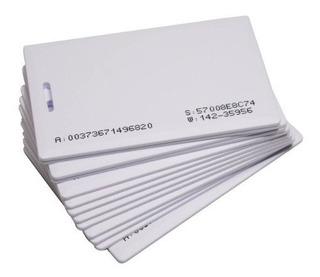 Kit C/ 10 Cartão Iso Card Proximidade Para Relogio De Ponto, Controle De Acesso E Catracas