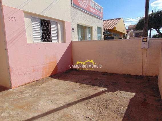 Casa Para Alugar, Por R$ 750/mês - Vila Mollon Iv - Santa Bárbara D