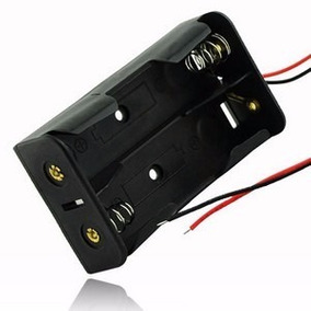 Case Suporte Para Bateria 18650 Para 2 Baterias Envio Rápido
