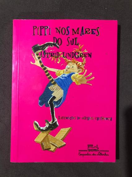 Livro Pippi Nos Mares Do Sul