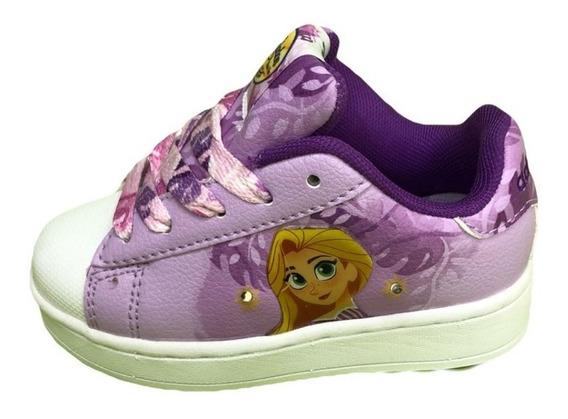 Zapatillas Addnice Flow Rapunzel Cordon Viol. C/ Luces Nena