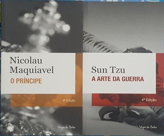 O Príncipe + A Arte Da Guerra 2 Livros De Adm Frete 10 Reais