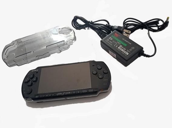 Video Game Psp 3001 Original Sony Carregador Com Jogos