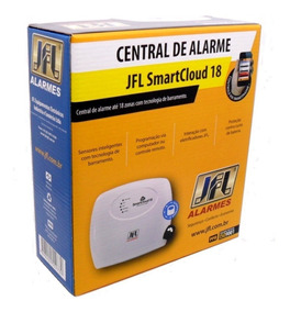 Central Alarme Jfl Smart Cloud 18 Com Aplicativo E Qr Code