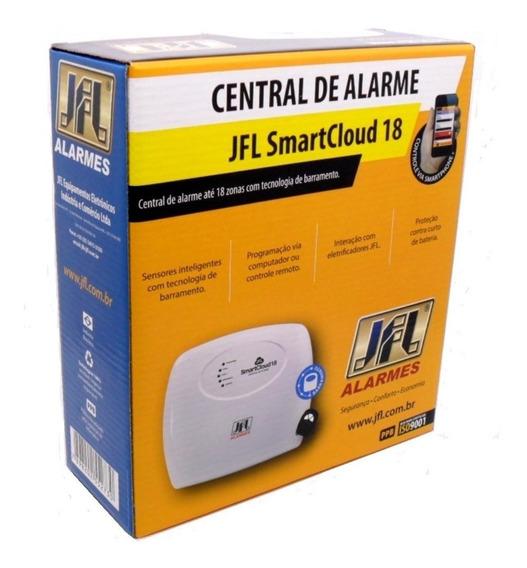 Central Alarme Jfl Smart Cloud 18 Com Aplicativo E Qr Code