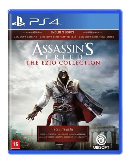 Jogo Assassins Creed Ezio Collection ² Ps4 Original