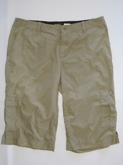 Pantalon Capri Para Mujer Talla 12 Eddie Bauer Pesca Camping