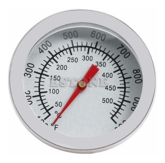 Termometro Estufa Forno Sauna 500ºc Prata A V08