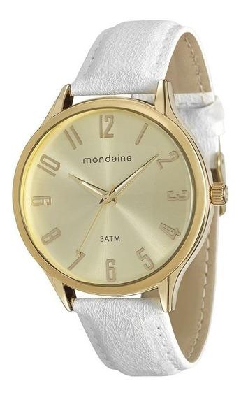 Relógio Feminino Dourado Mondaine 76575lpmgdh2 De Vltrine