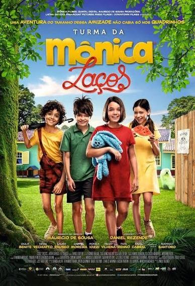 Dvd Turma Da Monica Laços 2019 Dublado - Full Hd