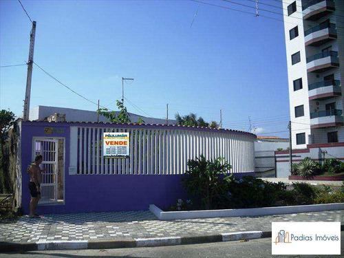 Casa Com 4 Dorms, Agenor De Campos, Mongaguá - R$ 450 Mil, Cod: 782300 - V782300
