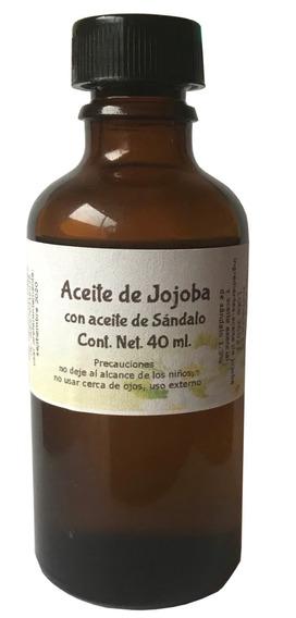 Aceite De Jojoba Con Sandalo 40 Ml