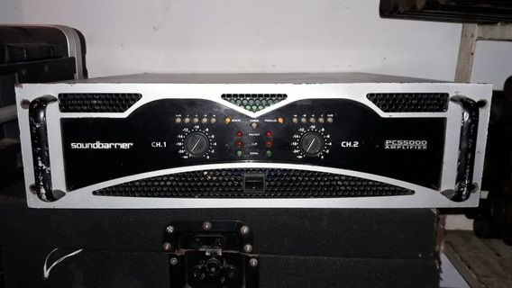 En Venta Amplificador Soundbarrier Pcs5000 Y Crown Xti 4000