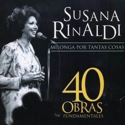 Susana Rinaldi 40 Obras Fundamentales 2 Cd Nuevo Tango