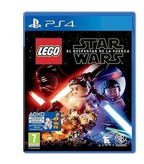 Lego Star Wars Despertar De La Fuerza Ps4 Fisico Sellado Esp