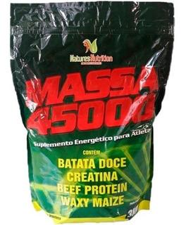 Hipercalórico Massa 45000 3kg Com Batata Doce E Waxy Maize