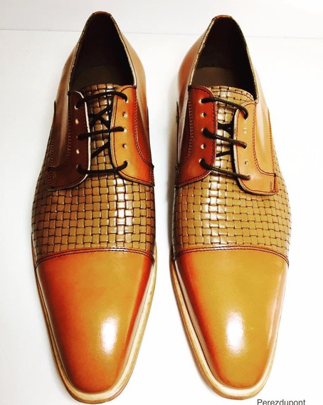 Zapato Vestir Hombre Perezdupont Cuero Vacuno