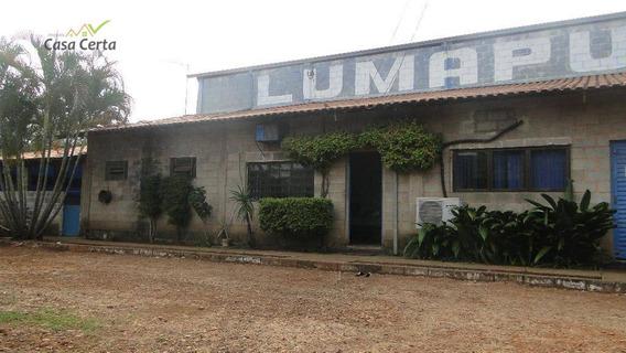 Barracão Comercial Para Locação, Parque Industrial João Batista Caruso, Mogi Guaçu. - Ba0021