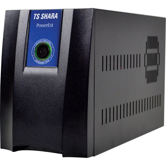 Estabilizador 2000va Bivolt Powerest Ts Shara Preto 9011