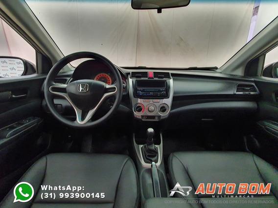 Honda City Sedan Dx 1.5 Flex 16v Impecável! C/ Bancos Em...