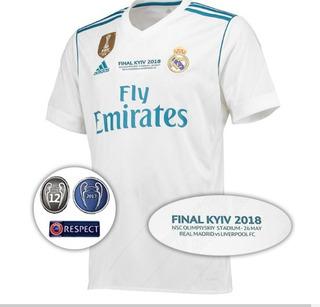 Camisa Real Madrid Final Champions 2018