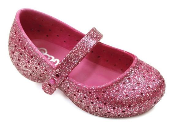 Sapatilha Plugt Nina Festa Gliter - Pink