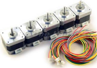 Motor Nema 17 Alto Torque 1.8 Cnc Impresora 3d 4.4 Kg +cable
