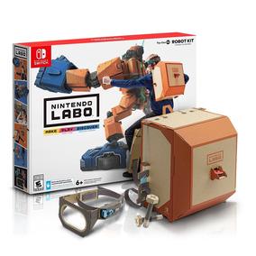 Nintendo Kit Switch Labo Robot Nintendo