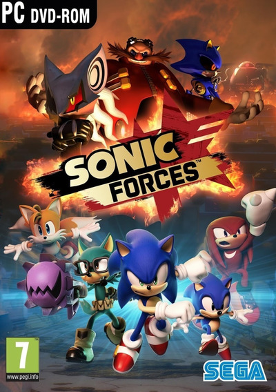 Sonic Forces Pc Envio Digital