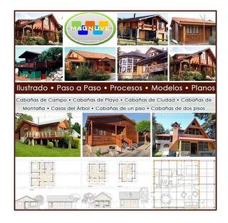 Construye Casas Cabañas Madera +20.000 Planos Carpinteria