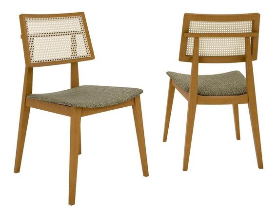 Conjunto 2 Cadeiras Palermo Móveis Clement Fb