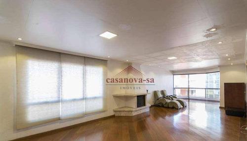 Imagem 1 de 29 de Apartamento Com 4 Dormitórios Para Alugar, 280 M² Por R$ 2.650,00/mês - Jardim - Santo André/sp - Ap0367