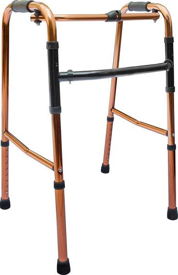 Andadera Ortopedica Caminadora Aluminio Plegable Ajustable