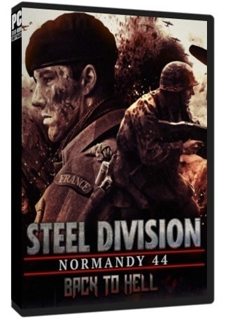 Steel Division Normandy 44 + Back To Hell Dlc - Pc Dvd