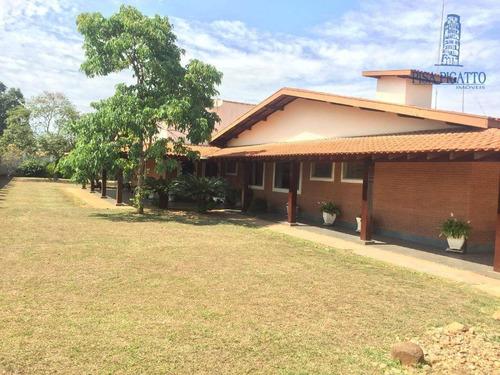 Chácara Para Alugar, 2325 M² - Santa Terezinha - Paulínia/sp - Ch0100