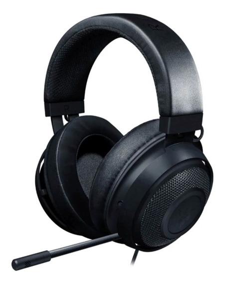 Headset Gamer Razer Kraken Multi-plataform P2 Black