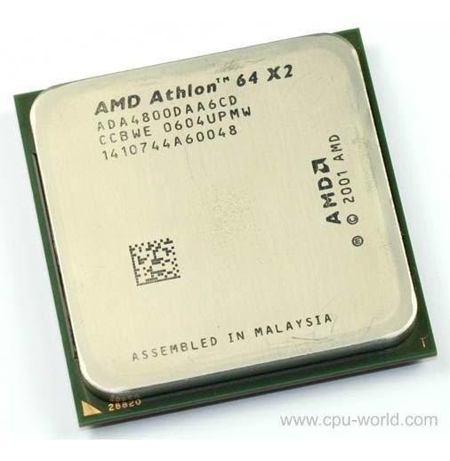 Processador Amd X2 Dual Core 4800+ Acompanha Cooler